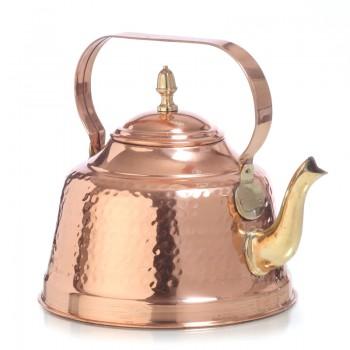 Медный чайник на 2,5 л воды луженый оловом изнутри