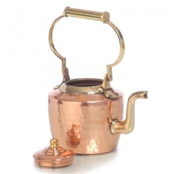 Медный заварочный чайник объёмом 350 мл воды.