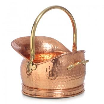 Медный Зольник хаммер средний объемом 9-10 литров.