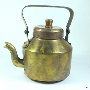 Чайник медный старый на 1.1 литр
