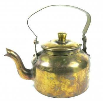 Чайник медный старый небольшой на 0,8литра