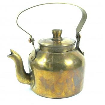 Чайник медный старый небольшой на 09литра